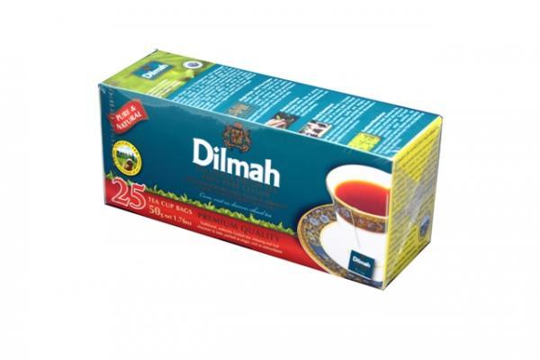 Trà túi lọc Dilmah hồng trà.