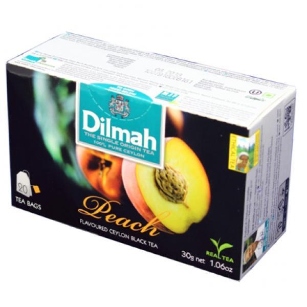 Trà túi lọc Dilmah Đào