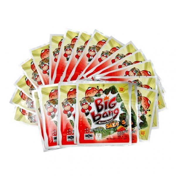 Rong biển TAO KAE NOI - Bigbang vị cay 2g/gói