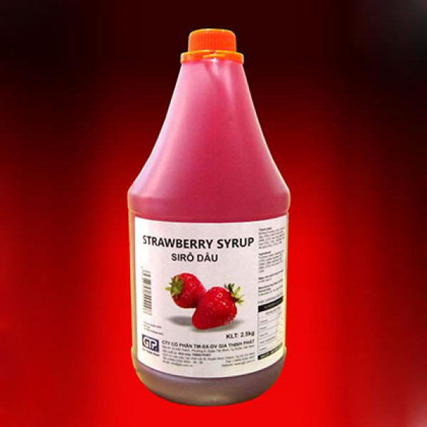 Syrup Dâu GTP 2.5Kg