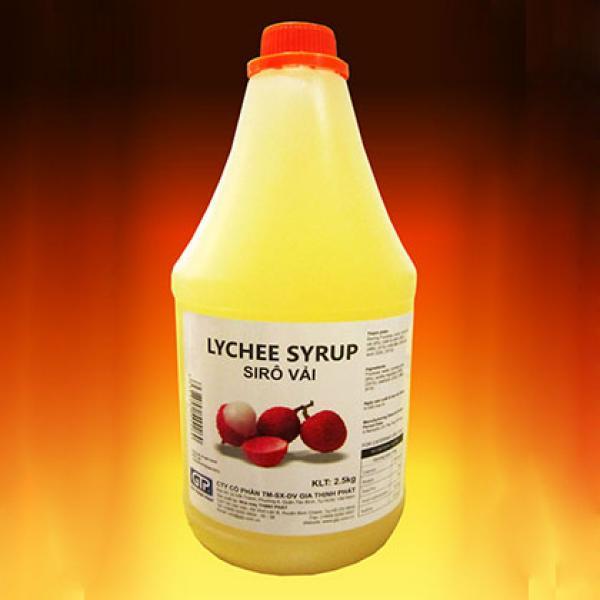 Syrup Vải GTP 2.5kg