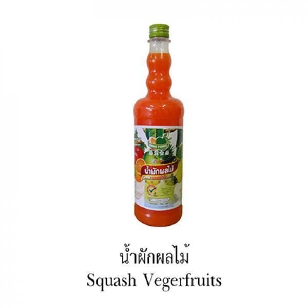 Siro Trái cây hổn hộp (Squash Vegerfruits) - DING FONG