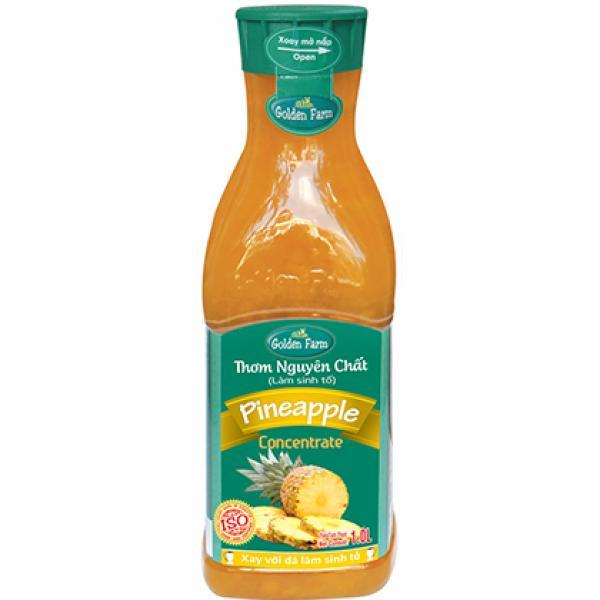 sinh tố thơm golden farm 1 lít
