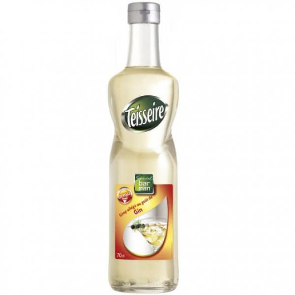 Syrup Teisseire rượu Gin 70cl