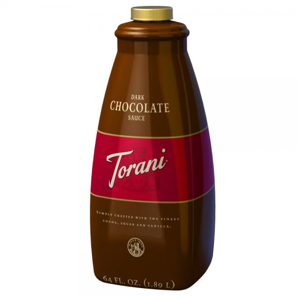 Torani Dark Chocolate Sauce 64oz – 1.89L