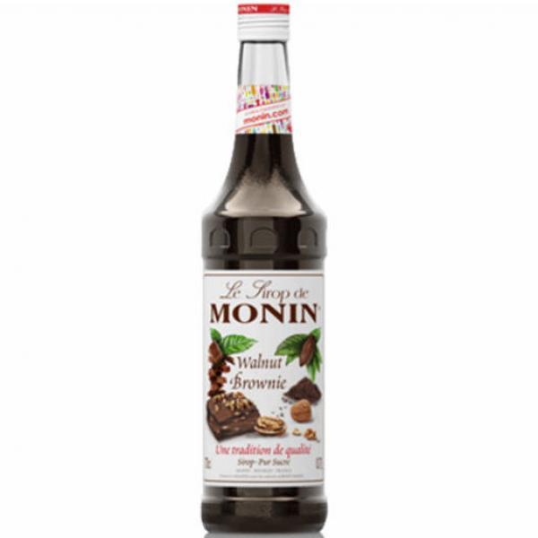 Syrup Monin quả óc chó (Walnut Brownie) – 70cl