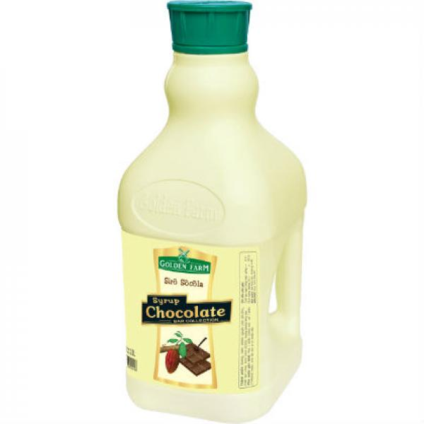 Siro Chocolate Golden Farm – 2L