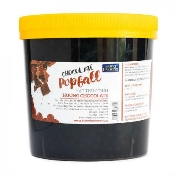 Popball Hạt Thủy Tinh Chocolate Hùng Chương 3kg2