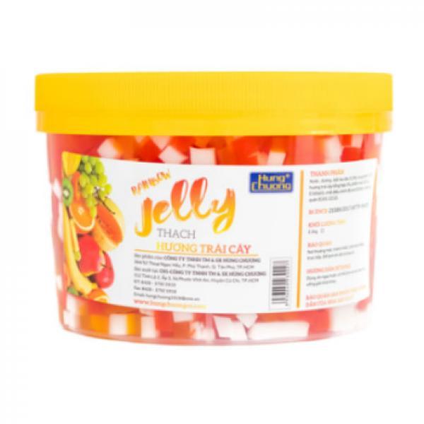 Thạch Hương Trái Cây Jelly Hùng Chương - 2kg2