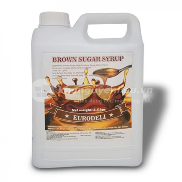Siro đường đen Eurodeli – 2,5kg