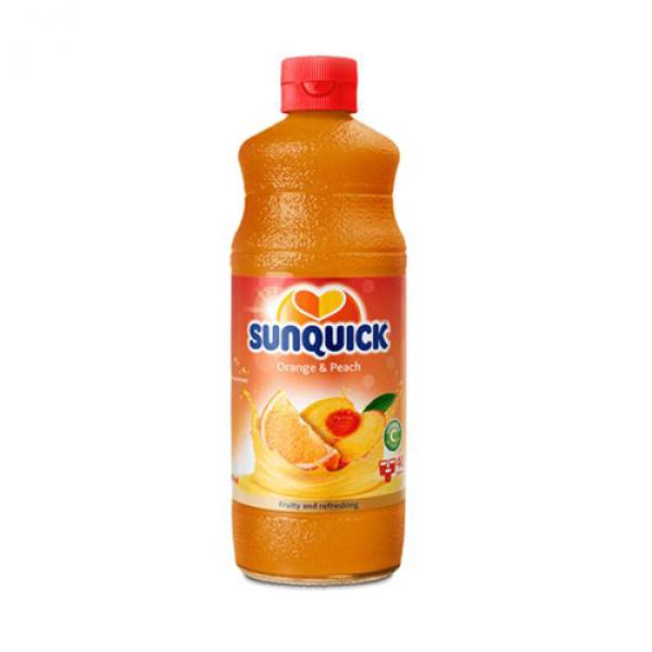 Syrup Sunquick Cam Đào 850ml