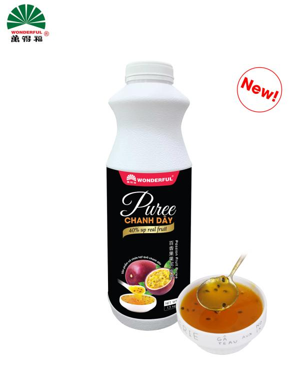 Puree Chanh dây Wonderful 1kg3